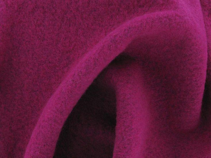Boiled Wool Blend, Fuchsia