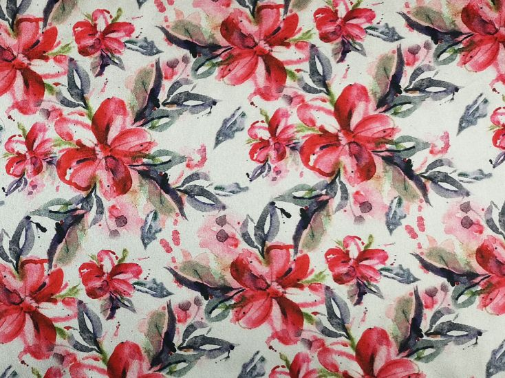 Printed Satin, Magnolia Garden