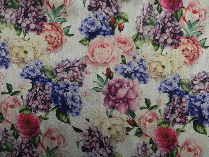 Printed Satin, Shropshire Garden