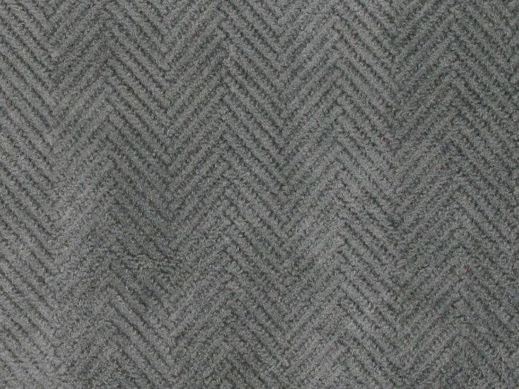 Contracts Range Upholstery Velvet Chevron, Silver
