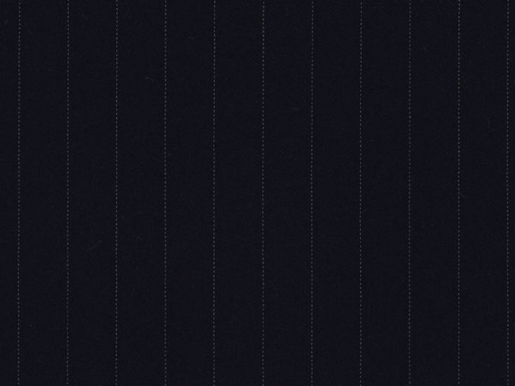 Alfred Brown Semi Milled 2/2 Twill, Super 110s Wool, Dark Navy