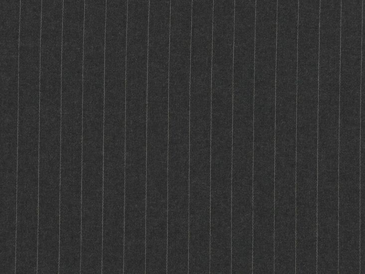 Alfred Brown Merino Two Fold Twill Wool, Grey
