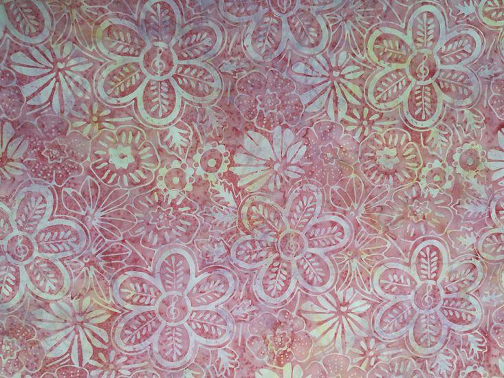 Bali Batik Cotton, Meadow Flower, Candy