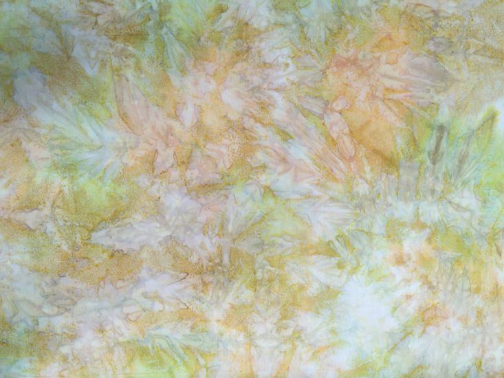 Bali Batik Cotton, Tempest, Sunflower