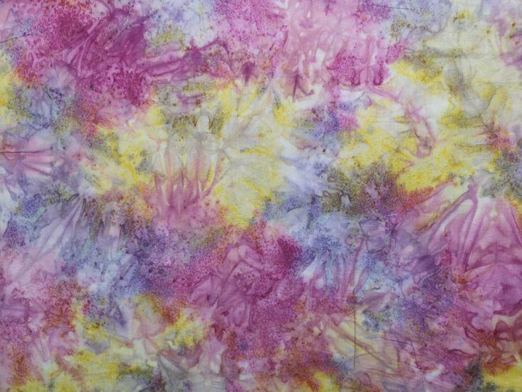 Bali Batik Cotton, Tempest, Chrysanthemum