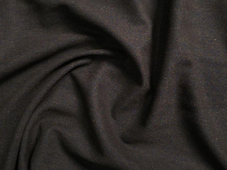 Brown Suiting Wool Melange, Blue Fleck