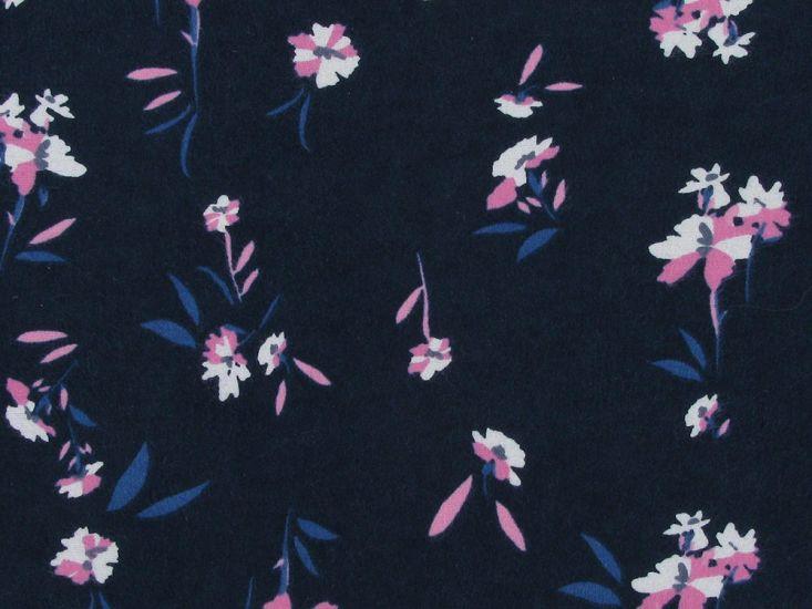 Cosmos Garden Brushed Cotton Print