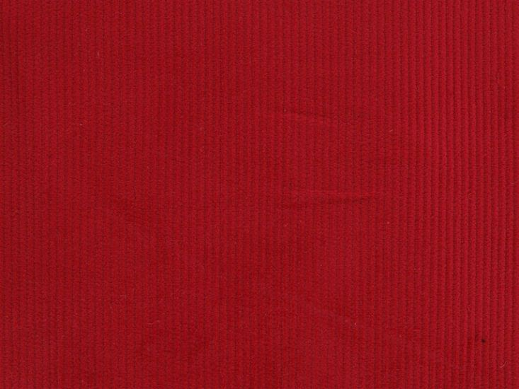 Cotton Corduroy - 8 Wale, Red