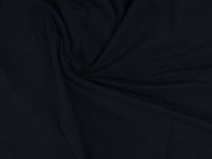 Brushed Cotton French Terry, Navy