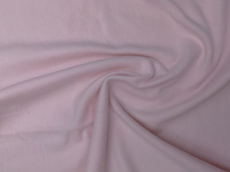 Brushed Cotton French Terry, Pink