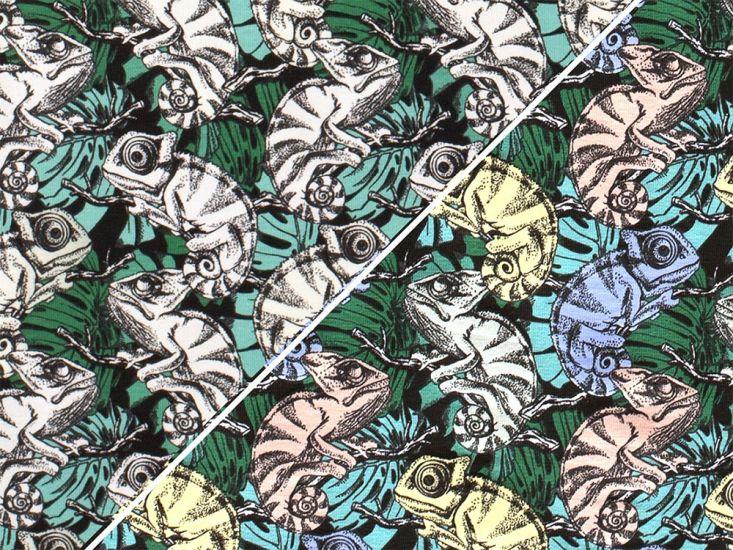 Colour Change Cotton Jersey, Chameleon
