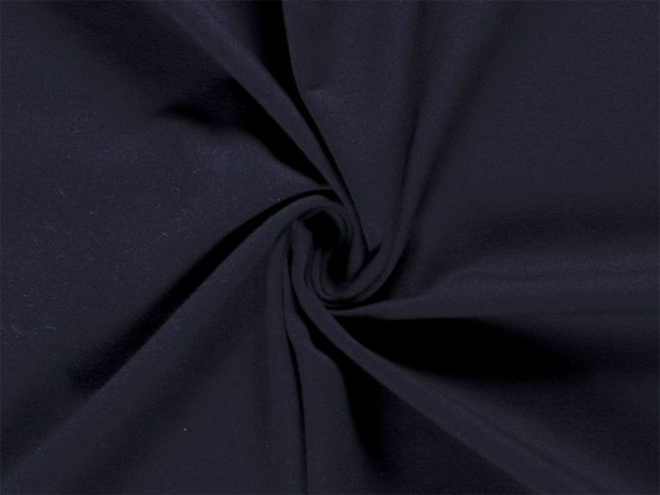 Soft Brushed Cotton French Terry, Navy
