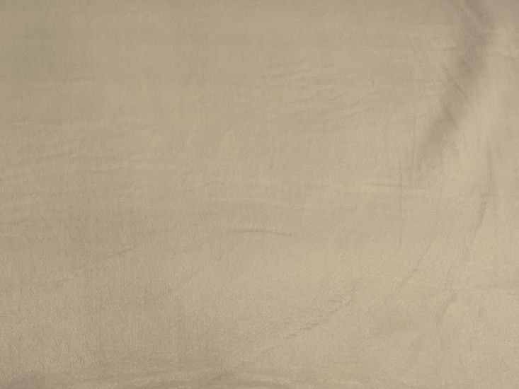 Ultra Soft Plain Cuddle Fleece, Beige