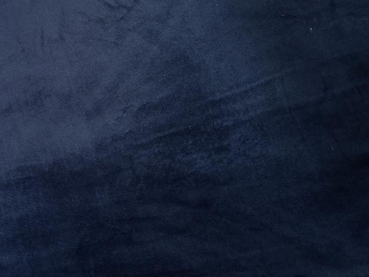 Ultra Soft Plain Cuddle Fleece, Navy
