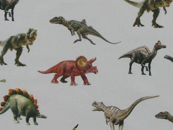 Dinosaurs Digital Cotton Print