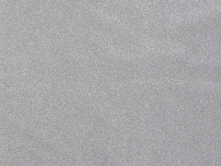 Glitter Sparkle Stretch Polyester, White Silver