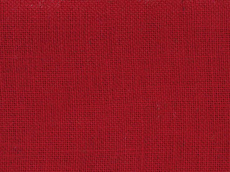Hessian Fabric, Red