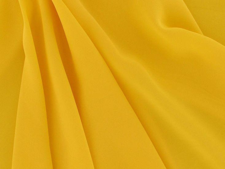 Koshibo Lightweight Polyester Crepe, Yellow