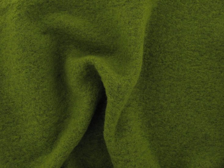 Boiled Wool Blend, Lime