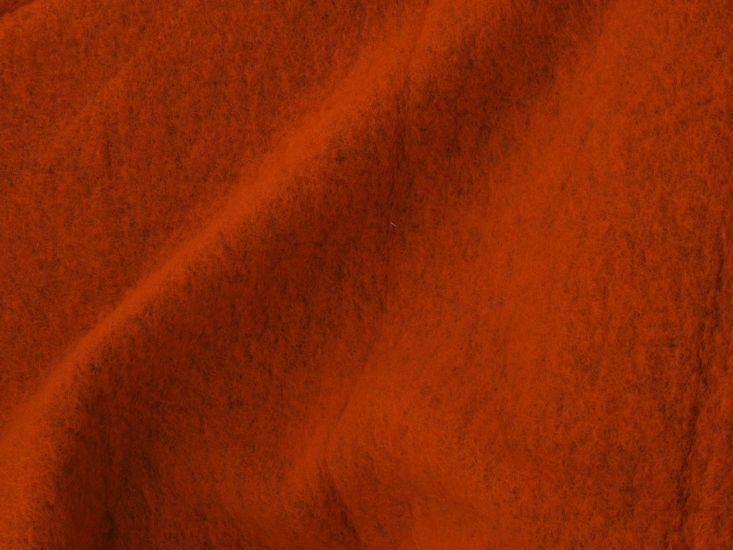 Boiled Wool Blend, Orange