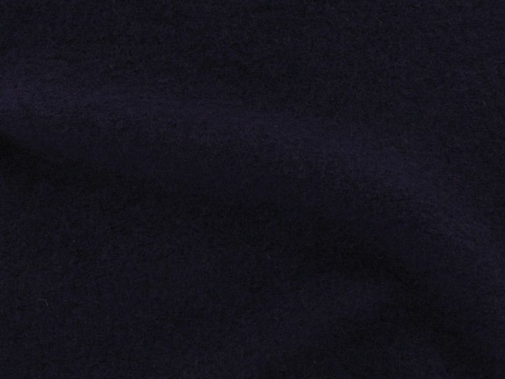 Boiled Wool Blend, Dark Purple