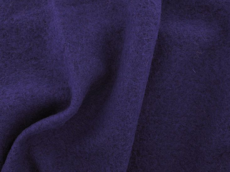 Boiled Wool Blend, Purple