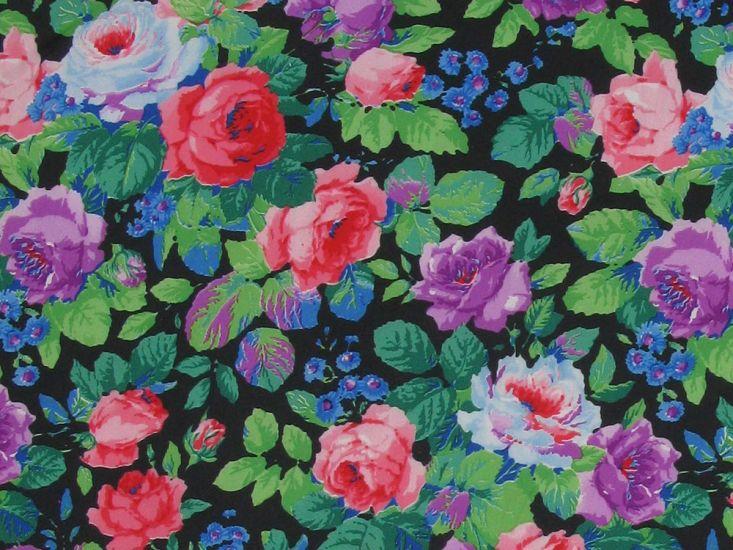 Floral Garden Taffeta