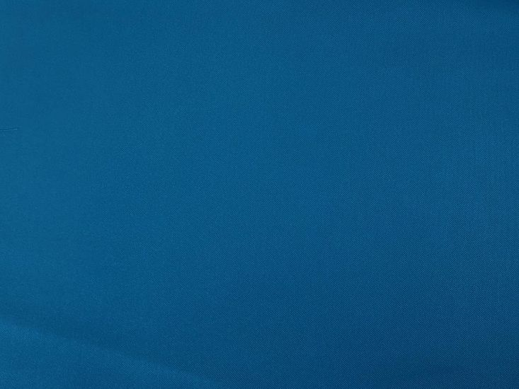 Plain Polyviscose Twill, Turquoise