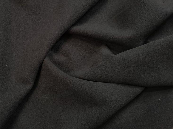 Premium Wool Velour, Black