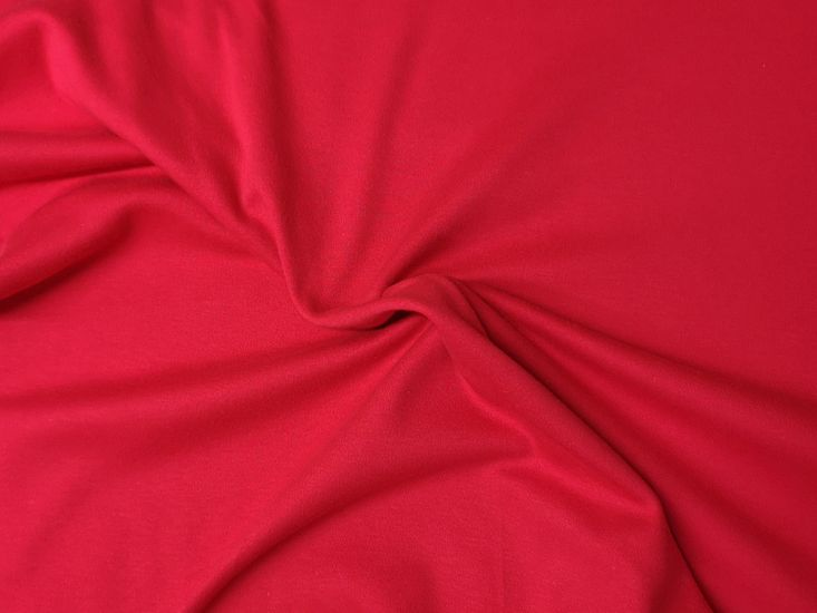 Pure Cotton Jersey, Red