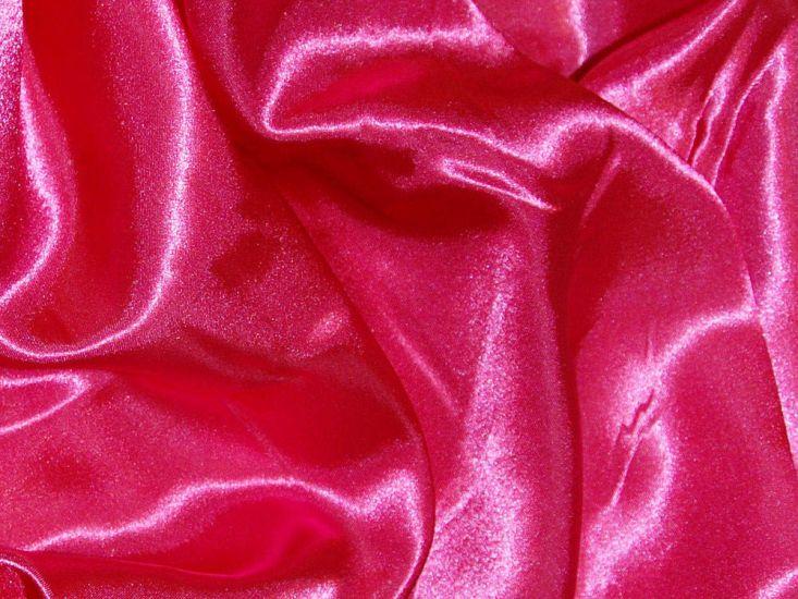 Silk Feel Polyester Satin, Cerise