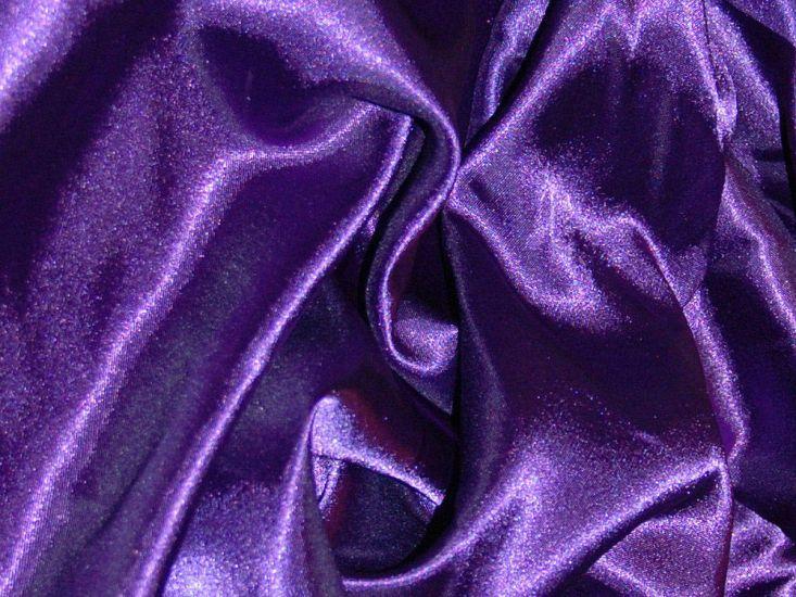 Silk Feel Polyester Satin, Deep Purple