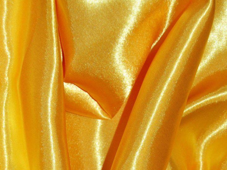 Silk Feel Polyester Satin, Yellow