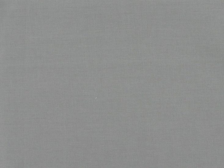 100% Premium Plain Cotton, Silver