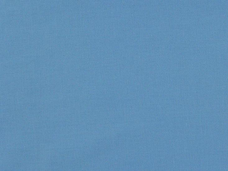 100% Premium Plain Cotton, Sky Blue