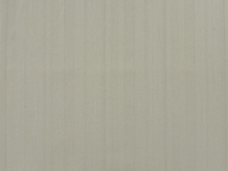 Self-Stripe Stretch Cotton Drill, Beige