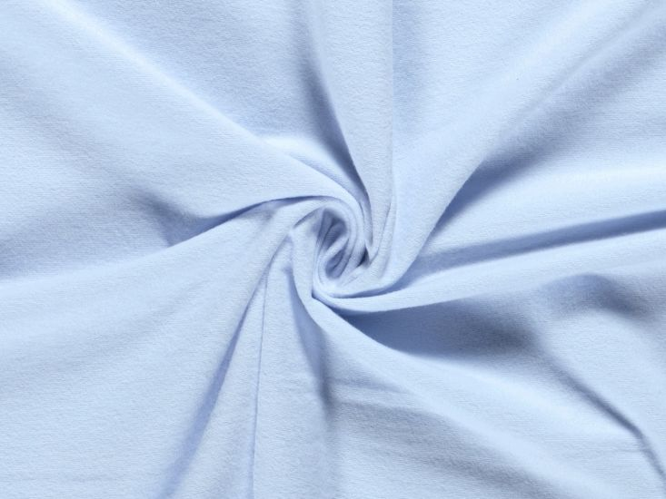 Plain Brushed Cotton Winceyette, Pale Blue