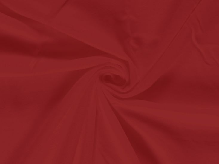 Plain Brushed Cotton Winceyette, Red