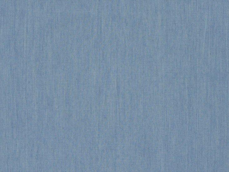Plain Washed 4oz Denim, Light Blue