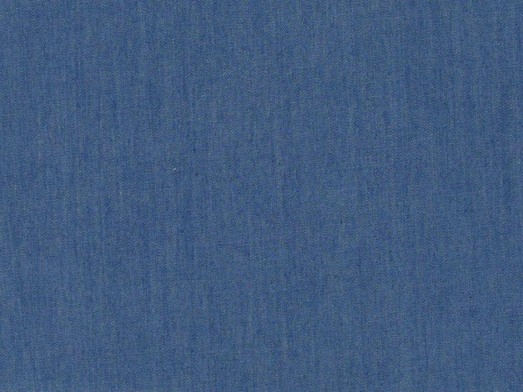 Plain Washed 4oz Denim, Medium Blue