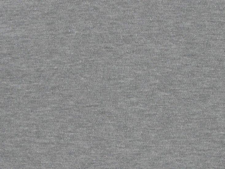 Cotton Jersey with Elastane - Grey Marl
