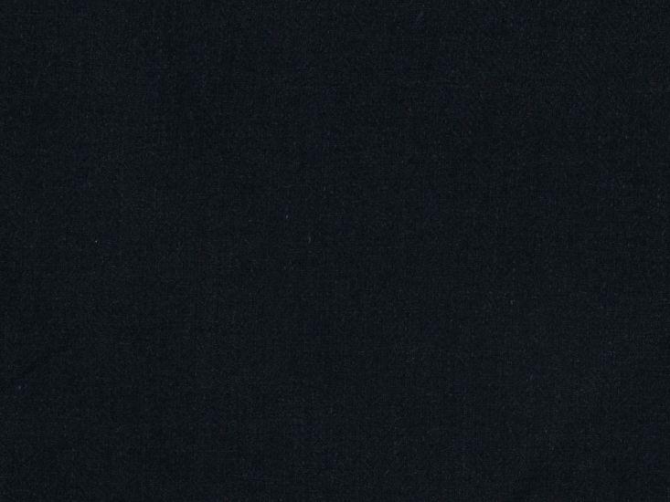 Mallow Subtle Herringbone Irish Linen, Dark Navy