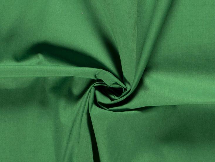 Premium Cotton Poplin, Emerald