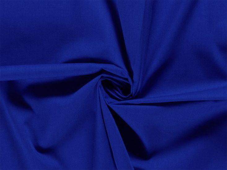 Premium Cotton Poplin, Royal Blue