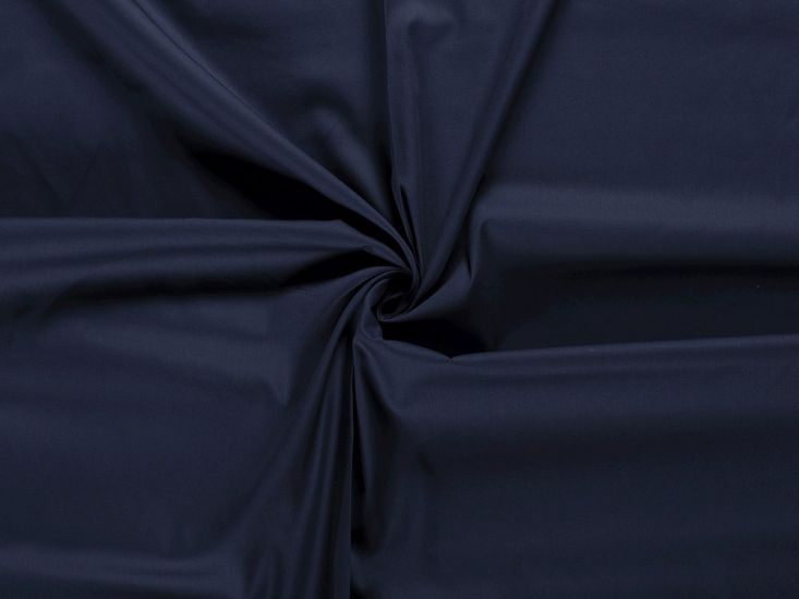 Premium Cotton Poplin, Navy