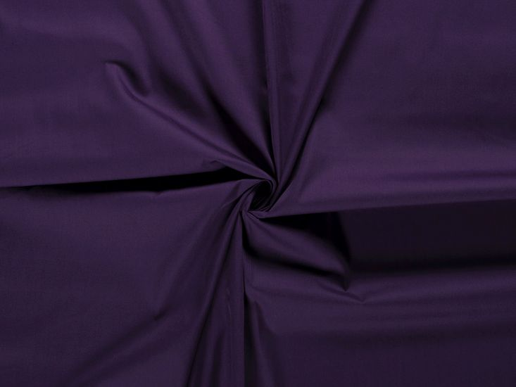 Premium Cotton Poplin, Purple