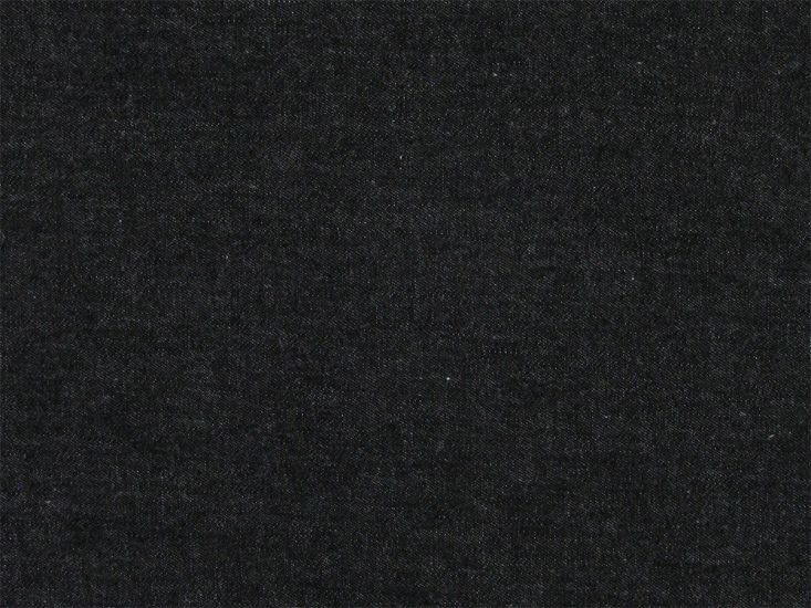 Plain Washed Chambray, Black