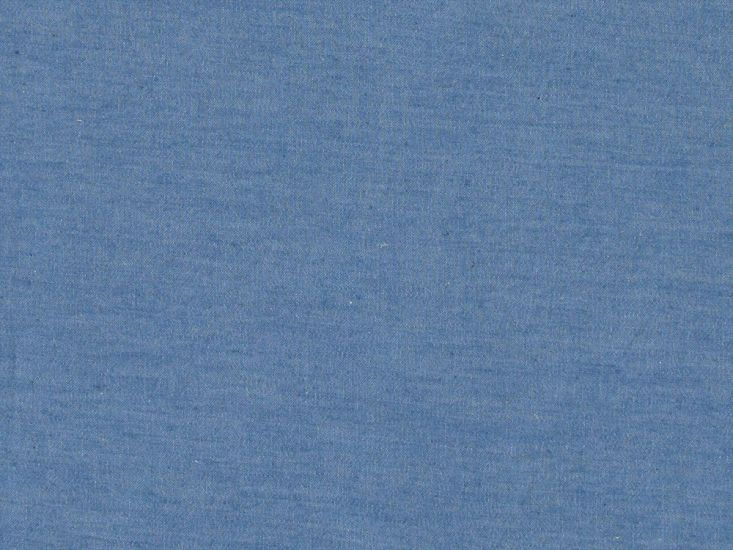 Plain Washed Chambray, Pale Blue