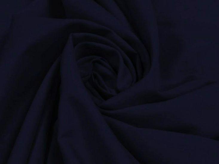 Plain Polycotton Fabric - Navy