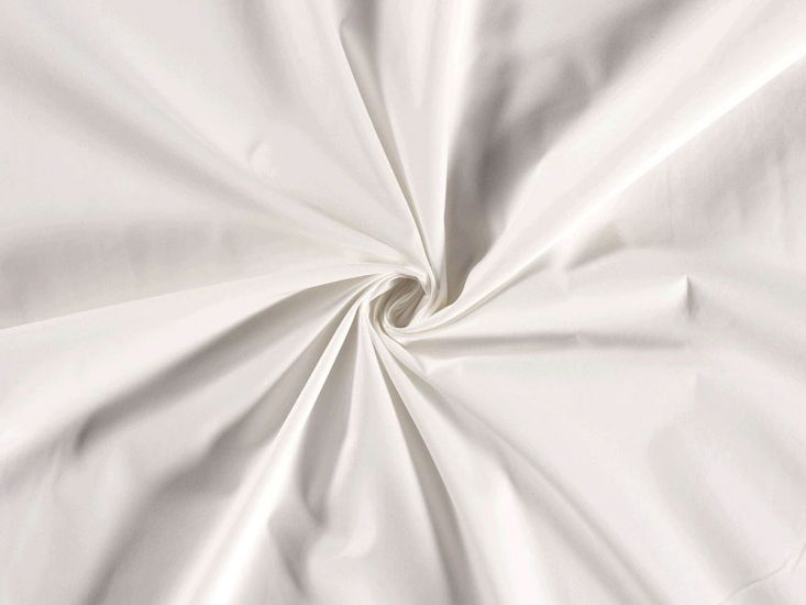 Wide Width Polycotton Sheeting, Ivory
